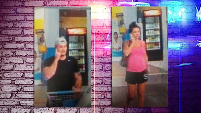 Man and woman accused of stealing computer from Central Square Walmart