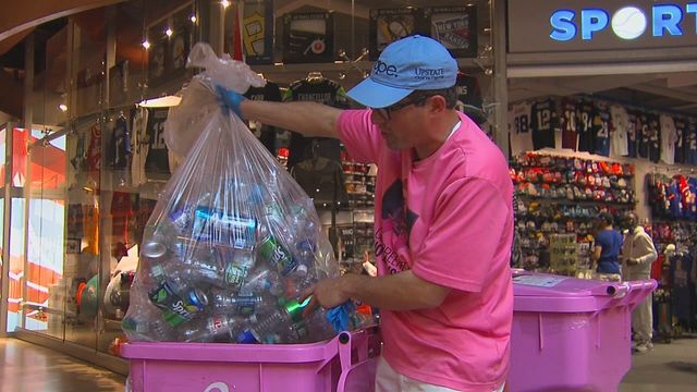 CNY 'Can Man' aims to collect a million bottles for cancer research
