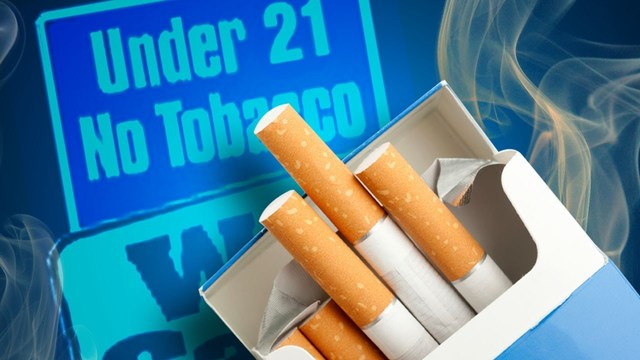 Onondaga County may soon increase the age to buy tobacco products