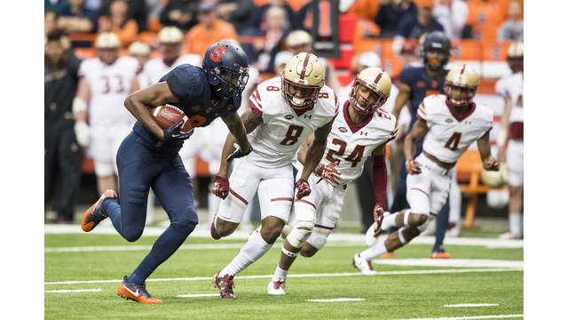 Boston College bolsters bowl resume with blowout of Syracuse