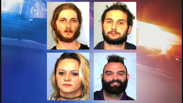 4 Cortland County residents arrested for allegedly using drugs in front of a 3-year-old