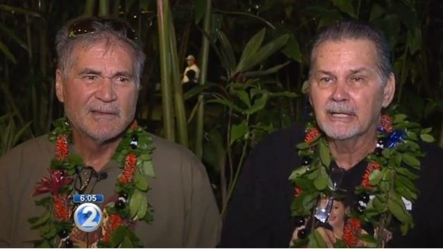 'Best Christmas present': Best friends of 60 years discover they're long-lost brothers