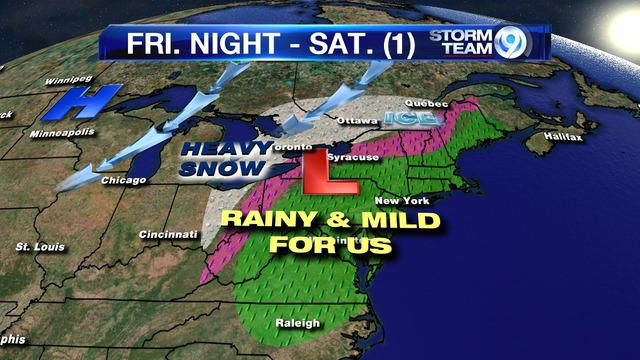 Significant winter weather possible Friday and Saturday