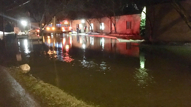 Emergency crews evacuating assisted living facility in Weedsport