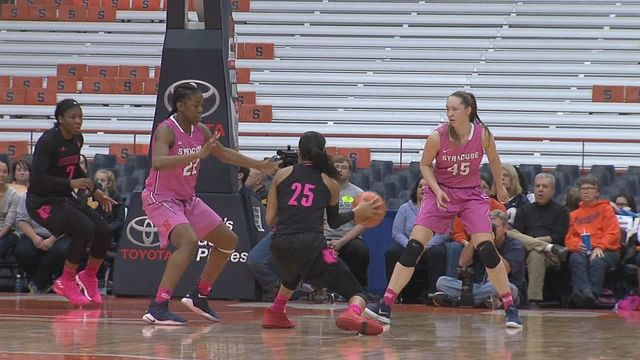 Syracuse women suffer second straight loss, falling to No. 4 Louisville