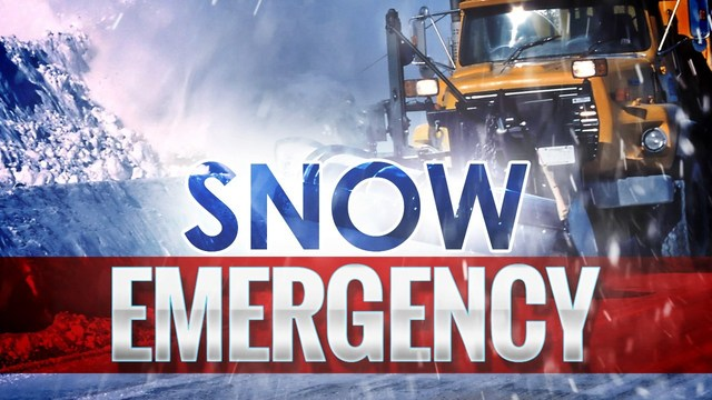 Snow emergency issued for Utica