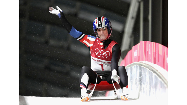 Erin Hamlin finishes 6th in women's luge