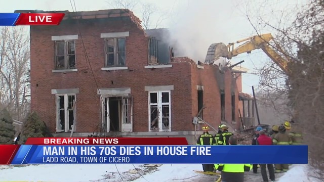 Investigators identify 76-year-old killed in Cicero house fire