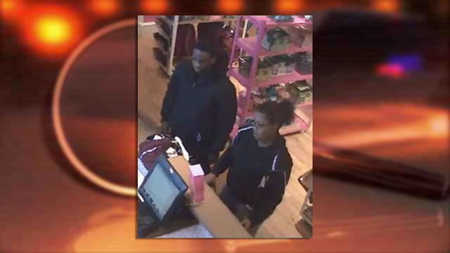 Sheriff's Office looking for pair accused of using lost credit cards