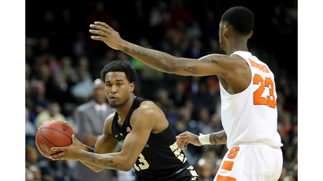 Syracuse knocks off Wake Forest for first ACC Tournament win