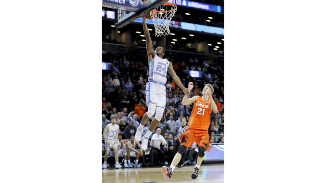 No. 12 Tar Heels score last 13 points, knock out No