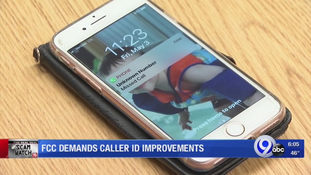 FCC Chair pushes cell phone companies to improve caller ID: Scam Watch
