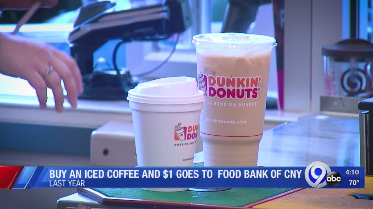 Iced Coffee Day benefits Food Bank of Central New York