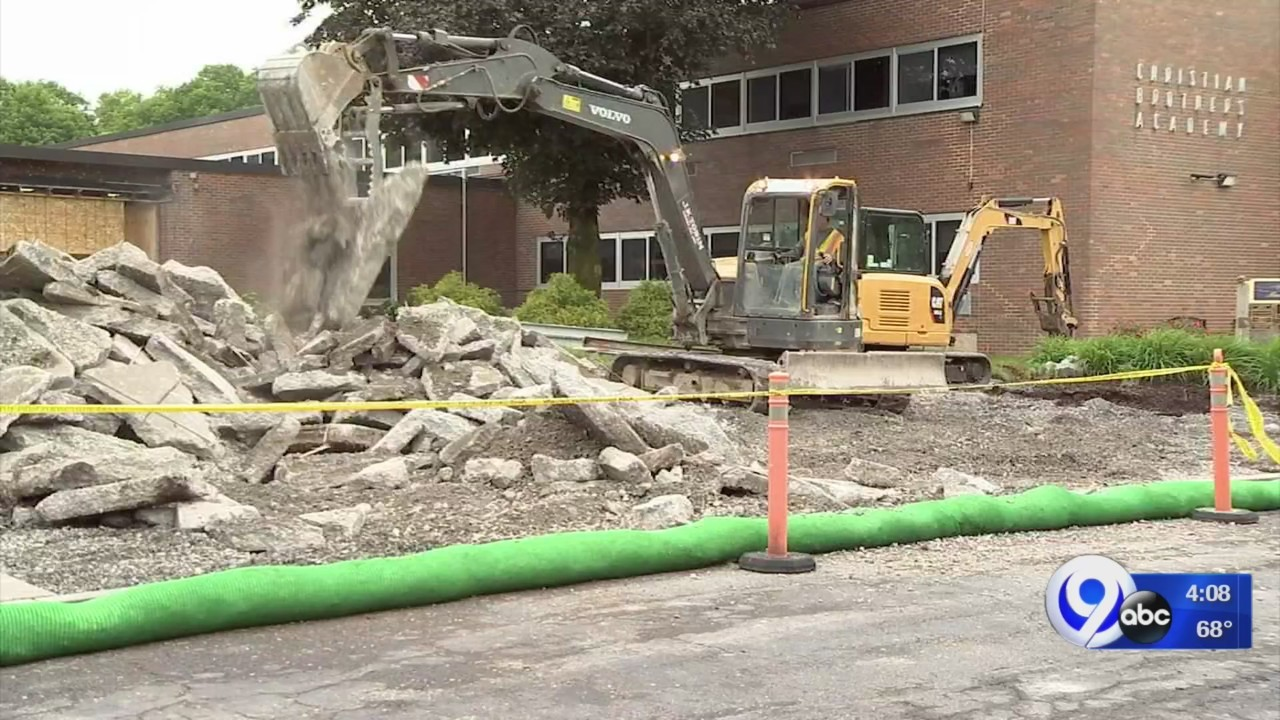 Christian Brothers Academy breaks ground on renovations, improvements to school
