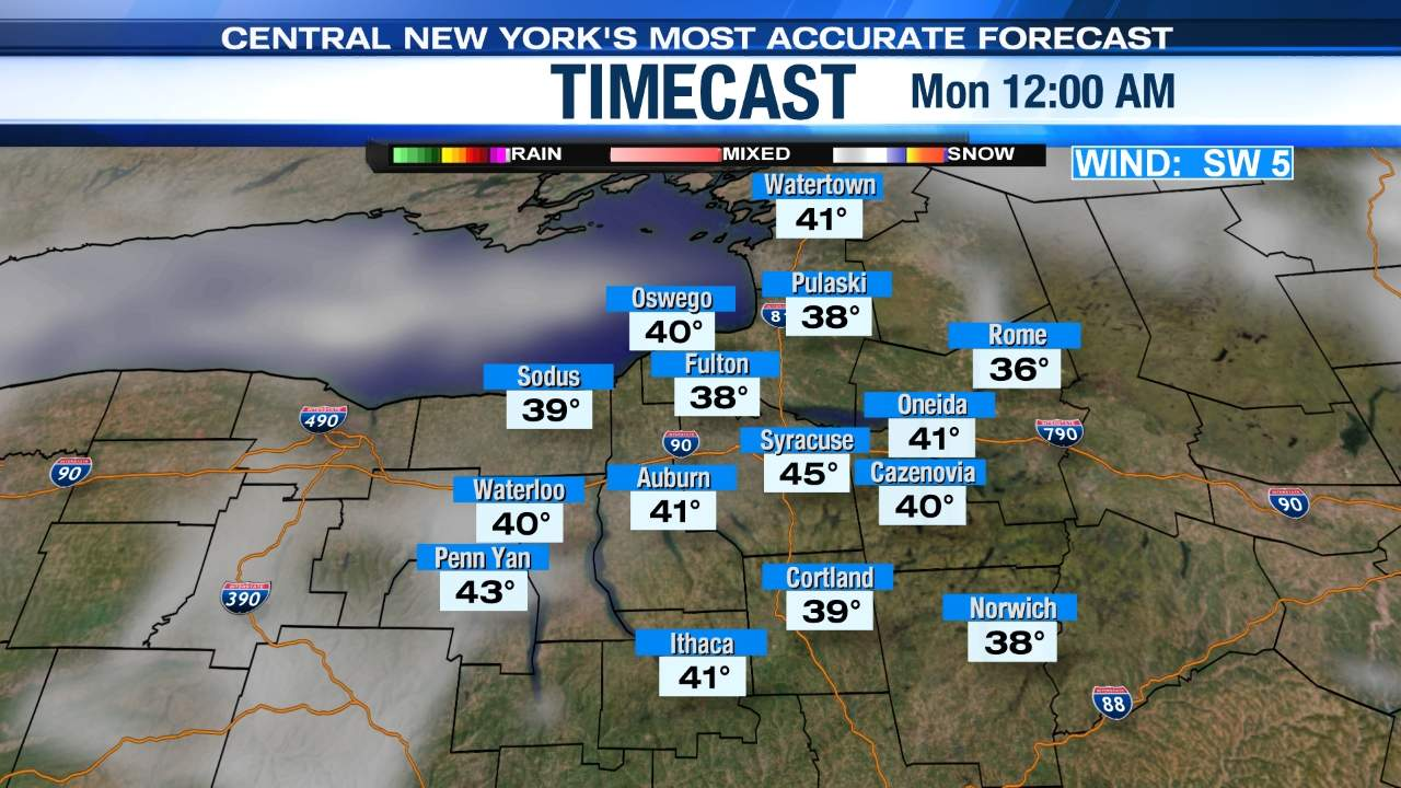 Timecast LocalSYR NewsChannel WSYR - Wsyr weather forecast