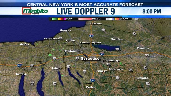 Live Doppler 9 Syracuse Area