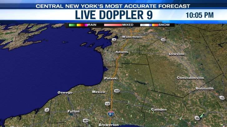 Live Doppler 9 Oswego Area