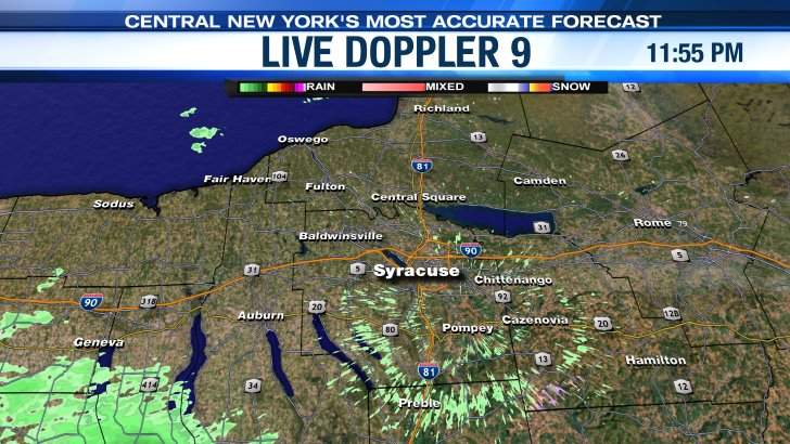 Live Doppler 9 - Syracuse area