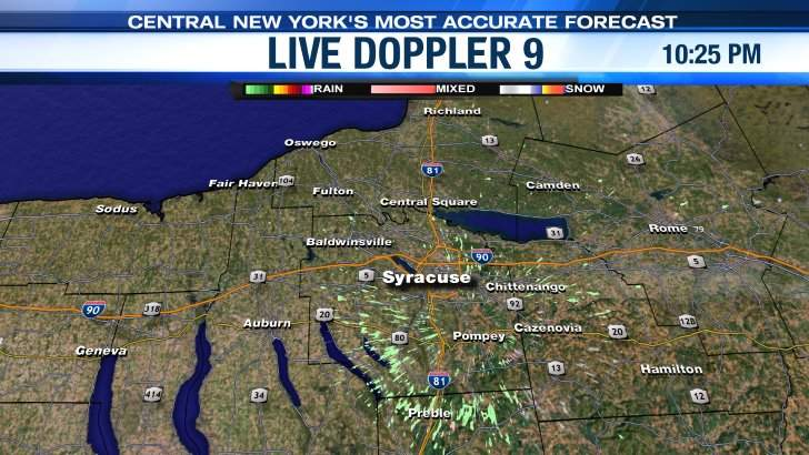 Live Doppler Syracuse Area LocalSYR NewsChannel WSYR - Wsyr weather forecast