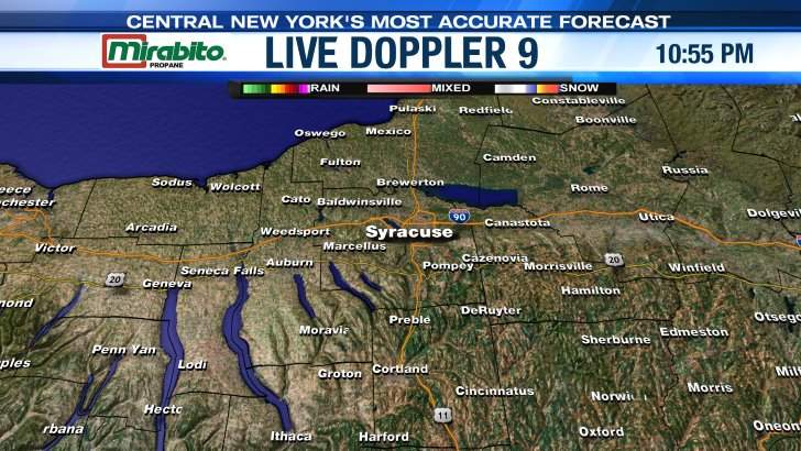 Live Doppler LocalSYR NewsChannel WSYR - Wsyr weather forecast