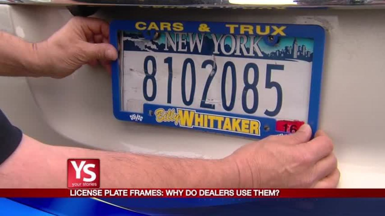 Your Stories Update: License plate obstructions