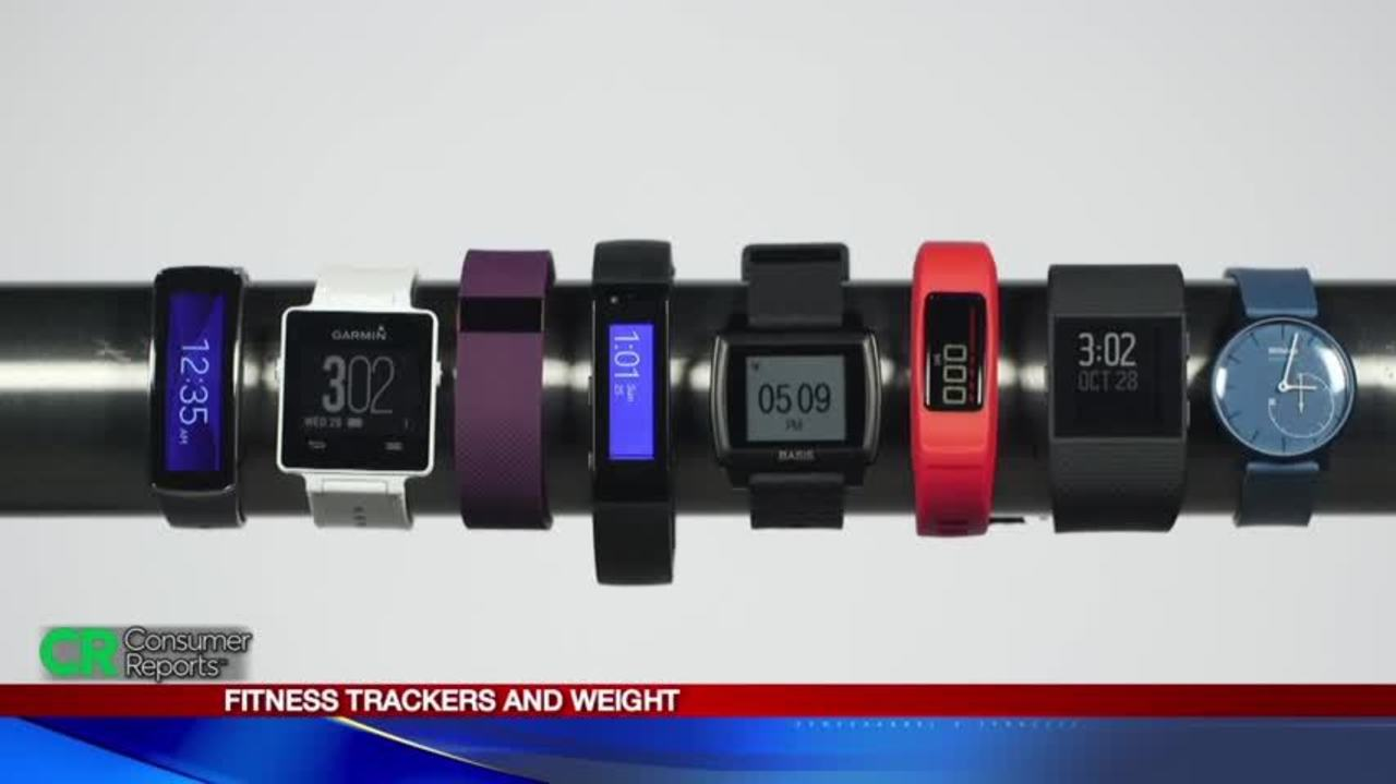 fitness trackers and weight consumer reports
