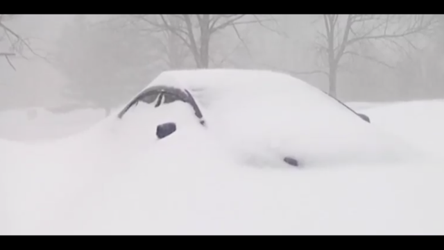 Binghamton sets snowfall record