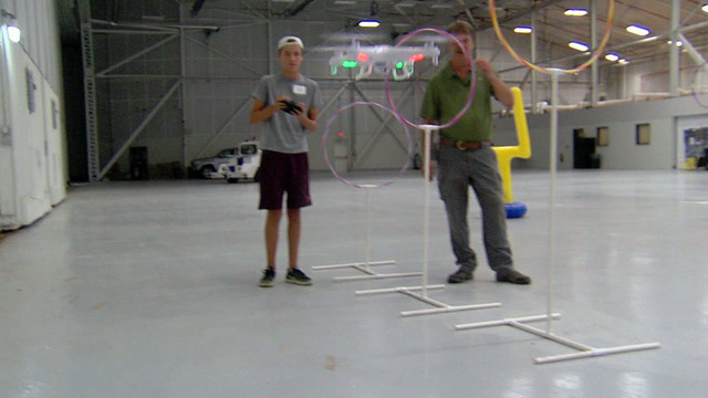 Oneida County drone camp wraps up with obstacle course