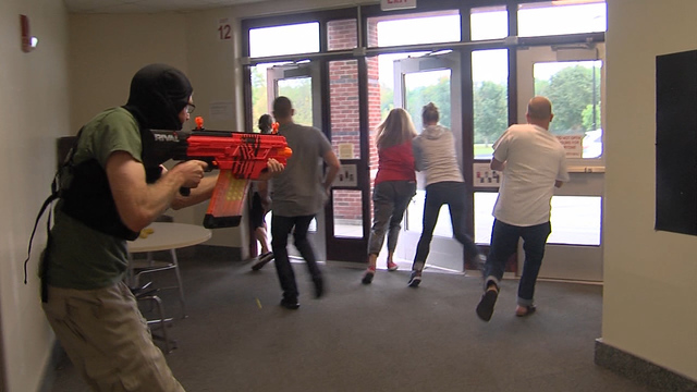 Staff undergo active shooter training in Baldwinsville CSD