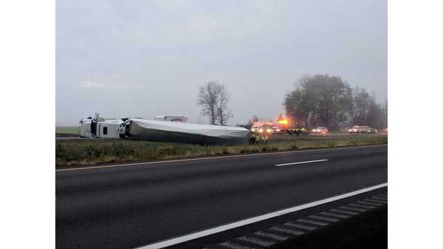 Update:  I-81 North near Preble is reopened following a morning accident