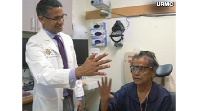 Syracuse native has some vision restored with 'bionic eye,' the first in New York State