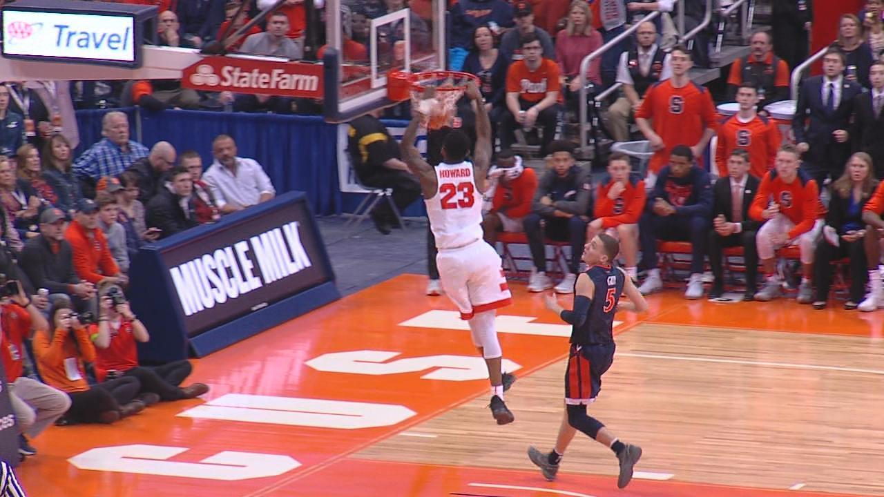 Su Guard Frank Howard To Miss Practice Time