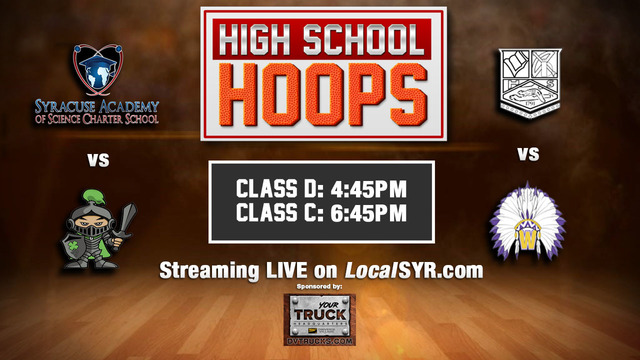 Check out these High School Hoops games: Section III Class C & D