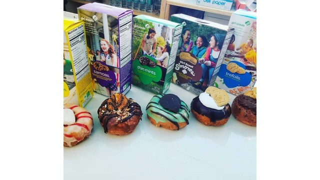 Syracuse shop featuring Girl Scout cookie-inspired donuts starting Wednesday