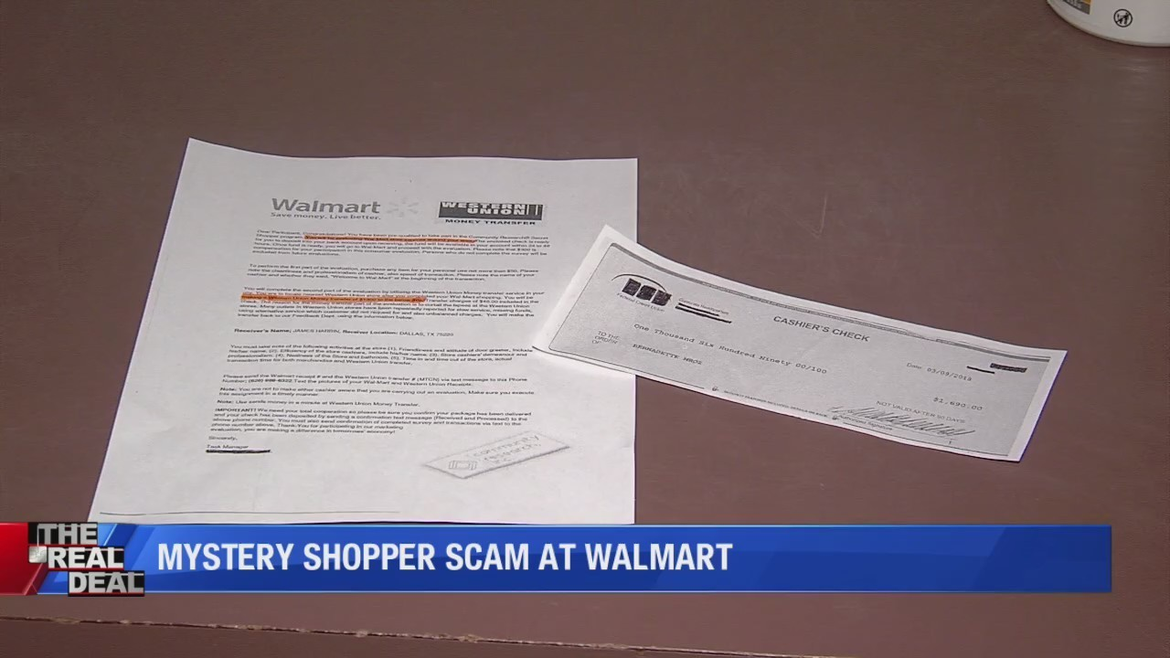 scam watch walmart doesnt solicit mystery shoppers