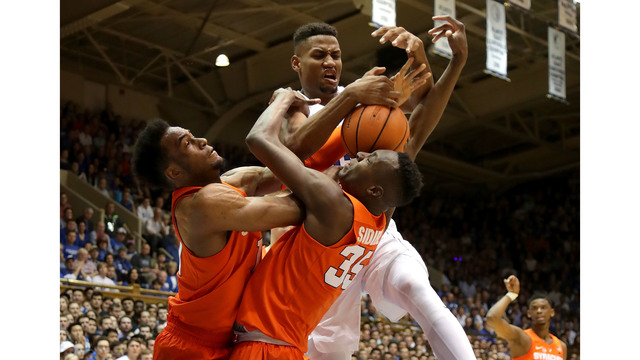 NCAA Tournament Predictions: Duke giving up too much to Syracuse? 3/23/18
