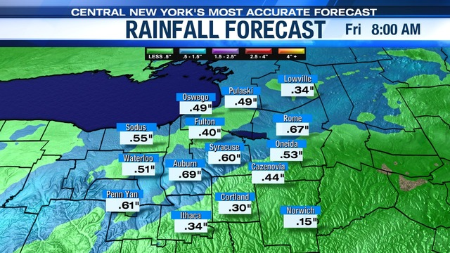 Heavy rain, flash flood potential expected Thursday