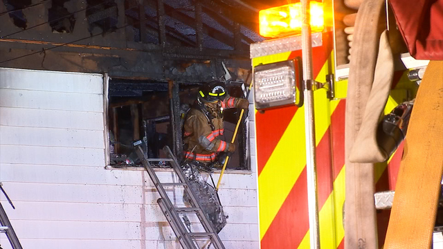 UPDATE: Fire badly damages home in Lyncourt