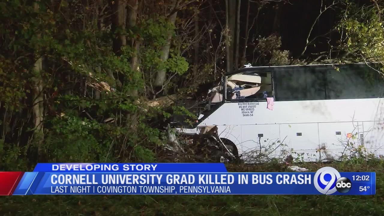 Cornell Alumna Dies in Bus Crash on Way From Ithaca to New