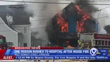 Crews battled fully involved house fire in Syracuse
