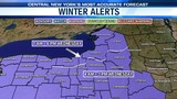 ALERT: A Winter Weather Advisory issued for all of CNY on Wednesday now