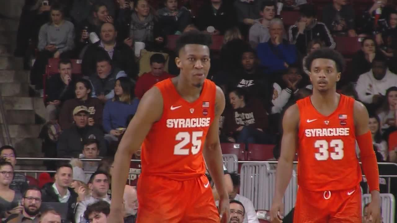Syracuse Bounces Back With Road Win Over Boston College