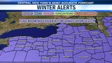 ALERT: Winter Weather Advisory is in effect for all of CNY through tonight