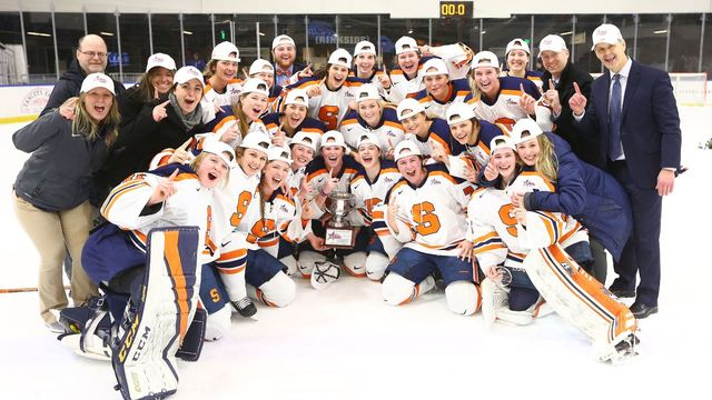 Syracuse wins first-ever College Hockey America title, punches ticket to NCAAs