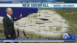 FORECAST: Chilly with a bit more snow tonight