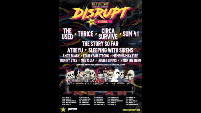 Disrupt Festival brings several rock, punk groups to the Amphitheater