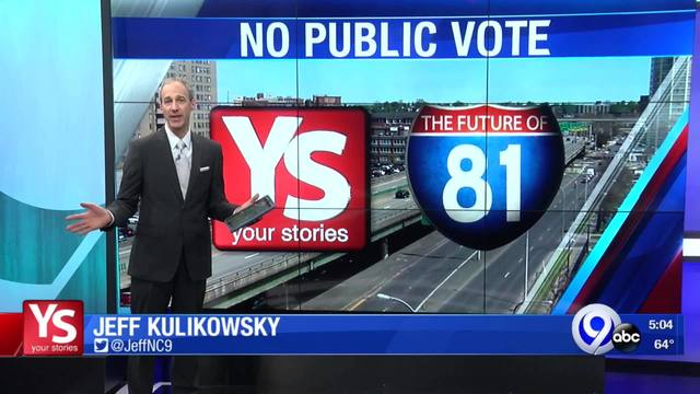 YS: Why no public vote on I-81 project