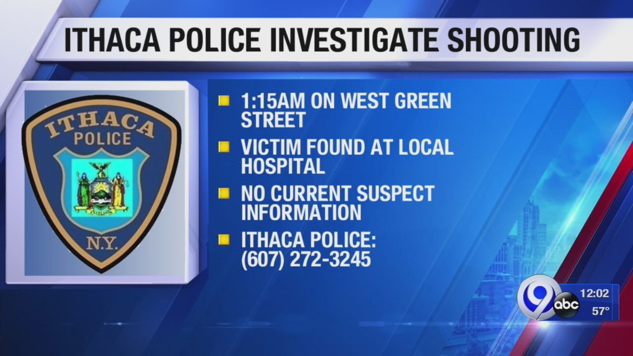 Ithaca Police investigating shooting