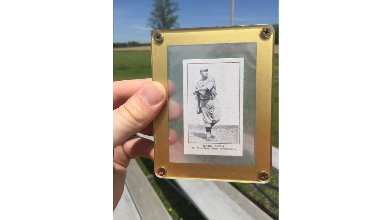 Port Byron native finds 'priceless' Babe Ruth card