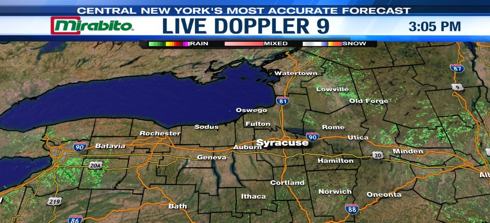 9 News Weather Map
